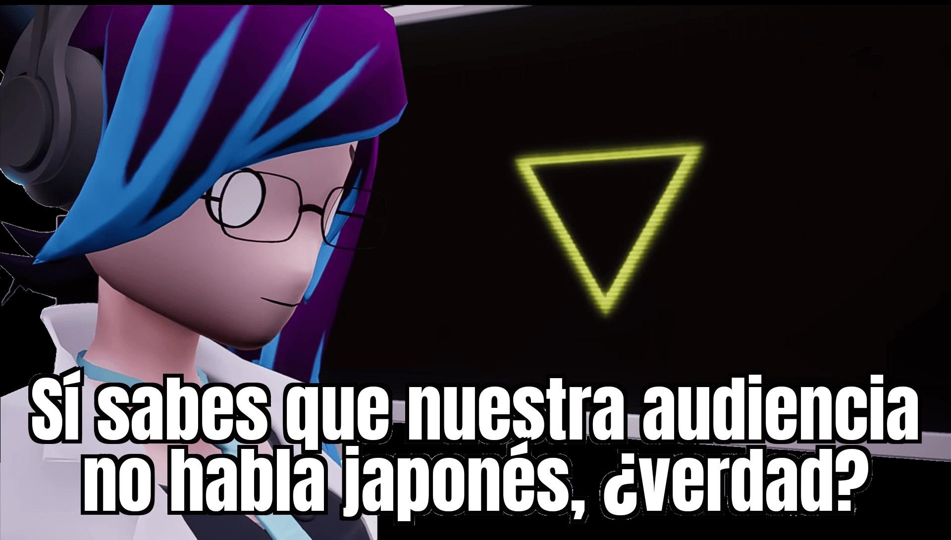 Plantilla de Sí sabes que nuestra audiencia no habla japonés, ¿verdad?