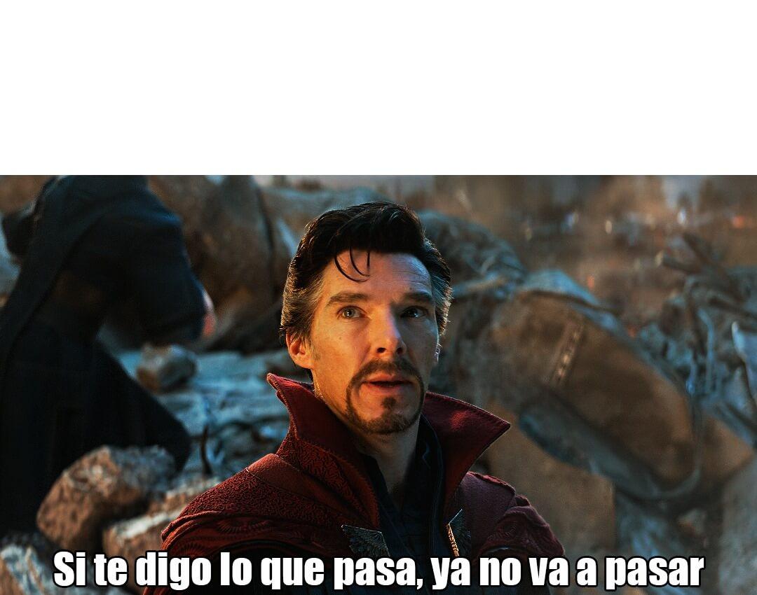 Plantilla de Si te digo lo que pasa, ya no va a pasar
