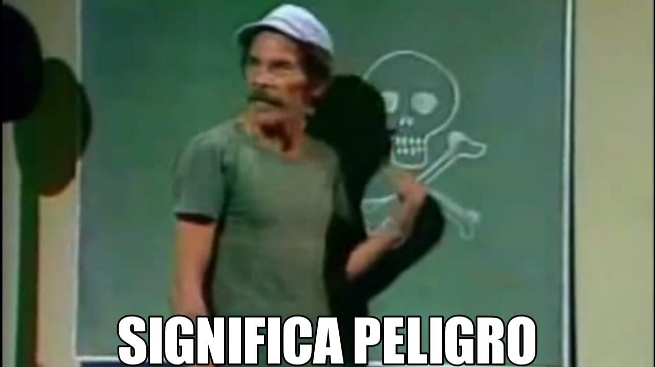 Ir a la pagina de la plantilla SIGNIFICA PELIGRO | Don Ramón.