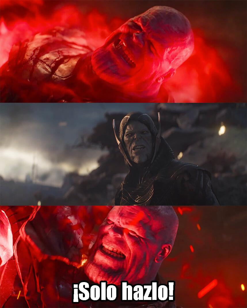 Ir a la pagina de la plantilla Solo hazlo | Thanos.