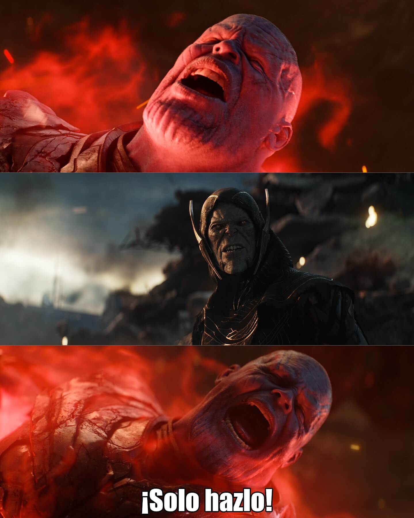 Plantilla de Solo hazlo   Thanos