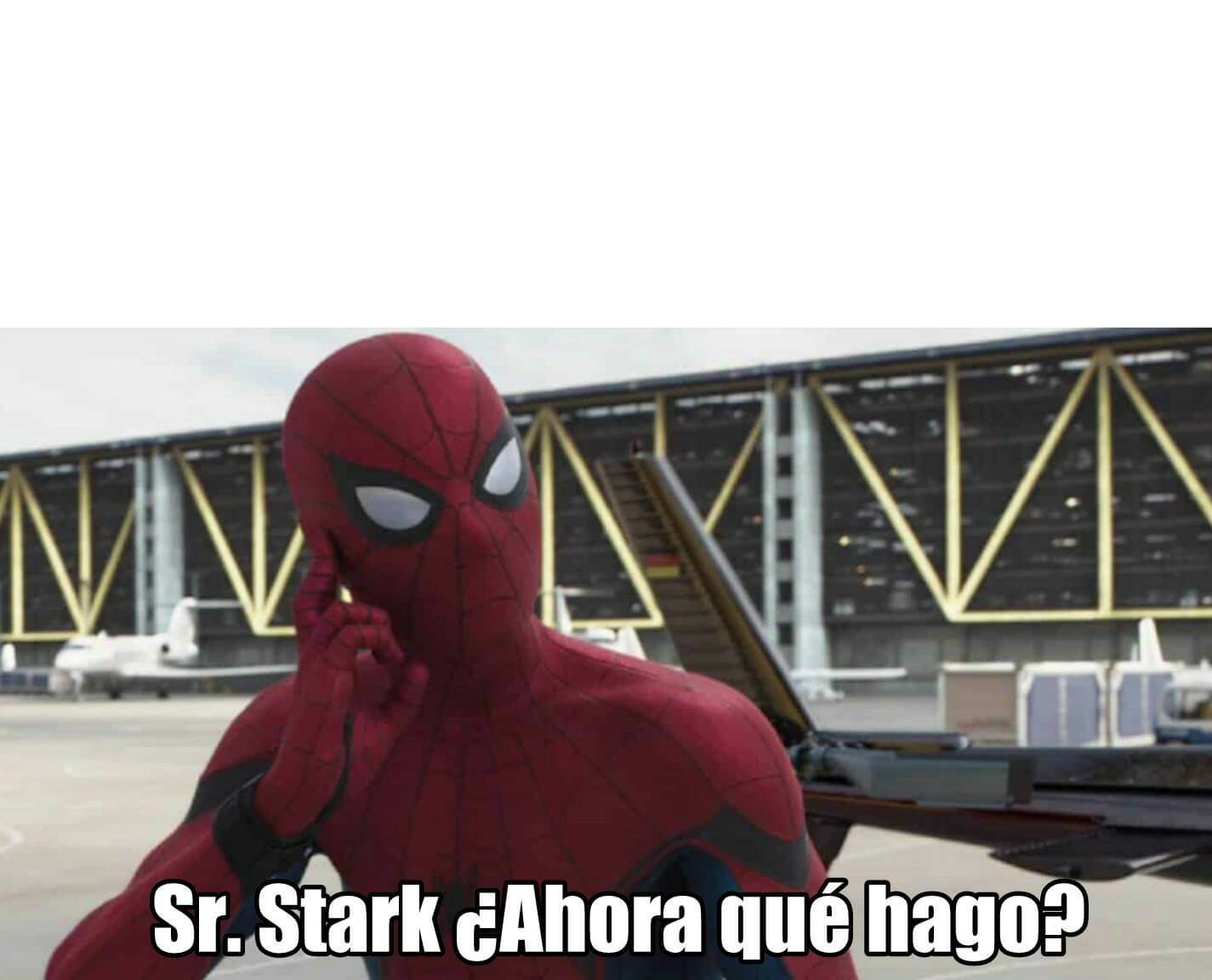 Ir a la pagina de la plantilla Sr Stark, ¿Ahora que hago?.