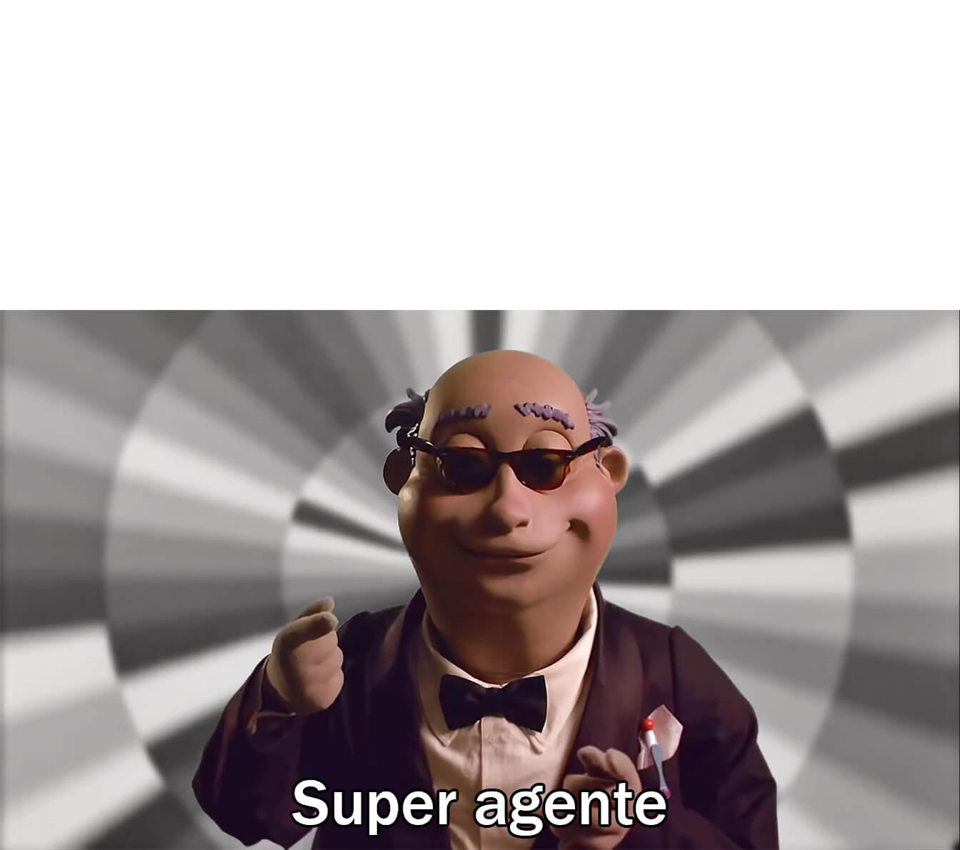 Ir a la pagina de la plantilla Super agente.