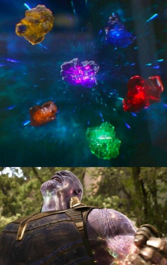 Ir a la pagina de la plantilla Thanos y las gemas del infinito..