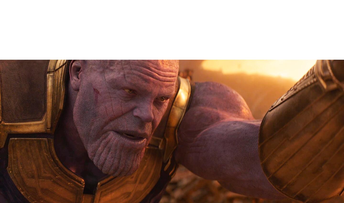 Plantilla de Tienes mi respeto Stark