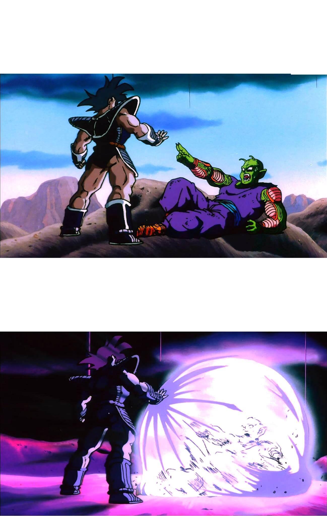Plantilla de Turles atacando a Piccolo