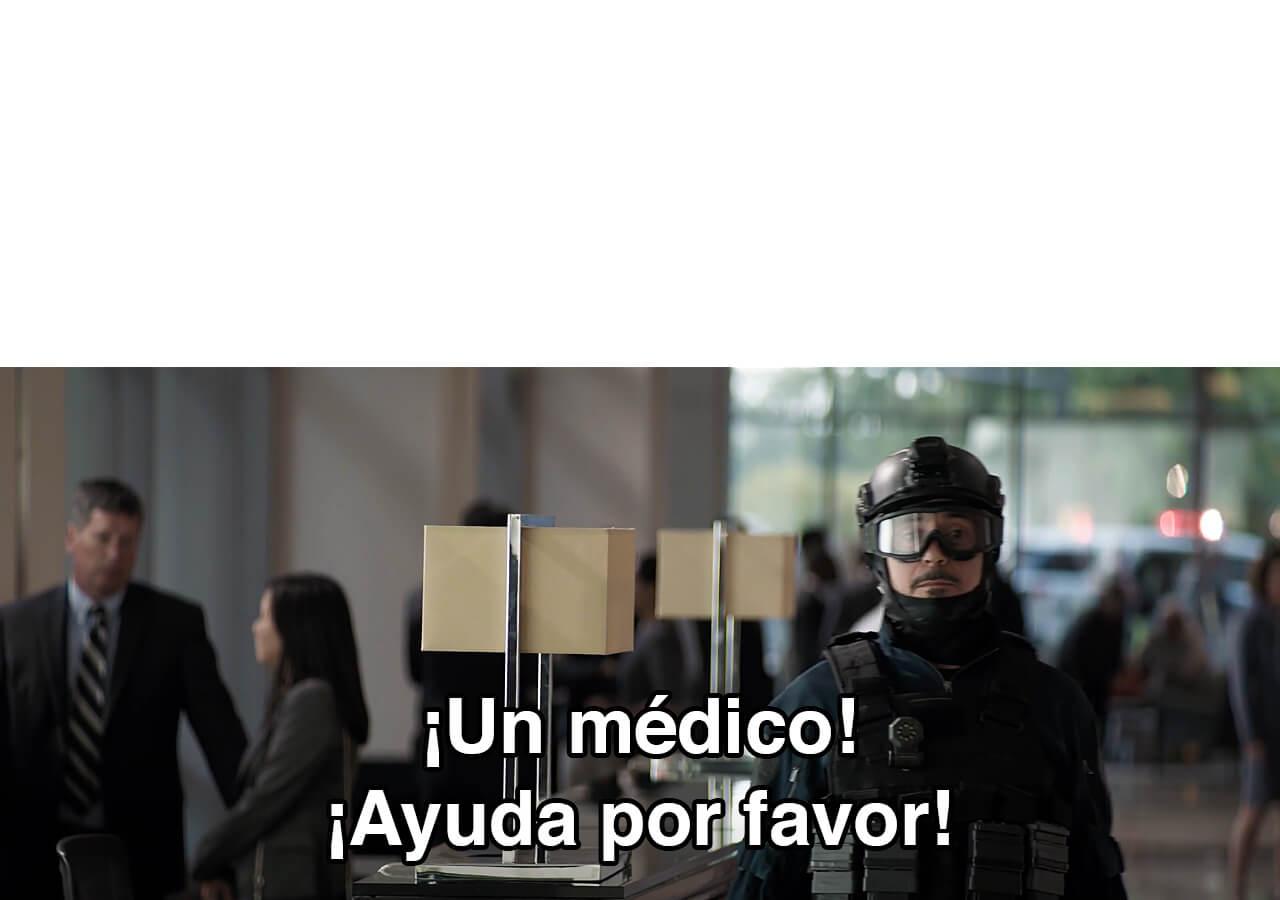 Ir a la pagina de la plantilla ¡Un médico! ¡Ayuda por favor!.