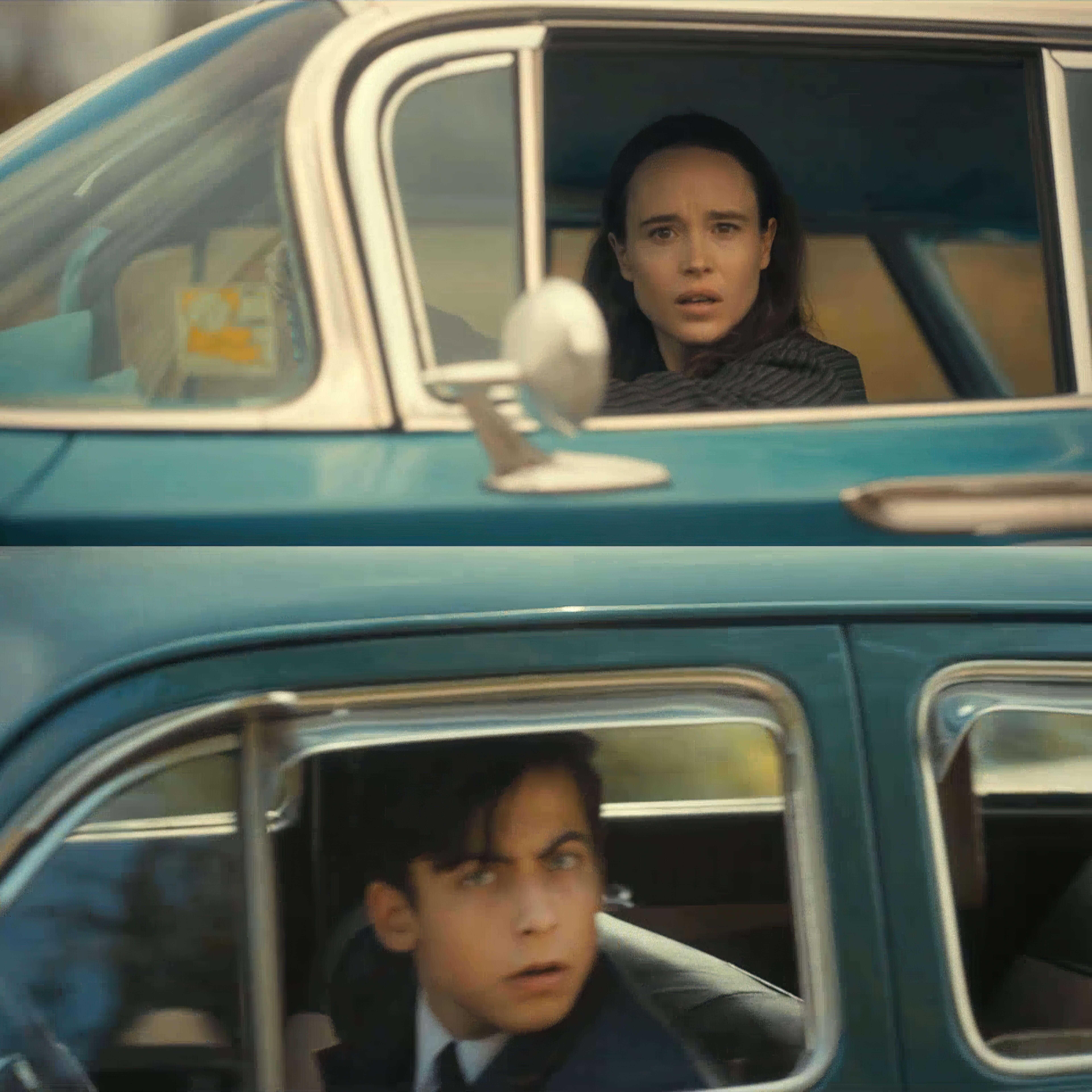 Ir a la pagina de la plantilla Vanya y Numero Cinco encuentro en coche.