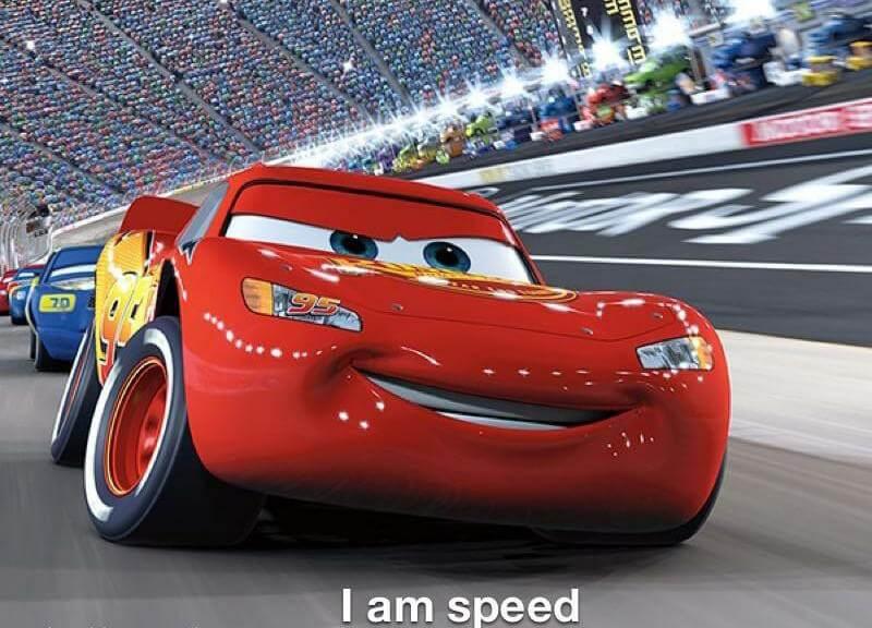 Plantilla de Velocidad, yo soy veloz