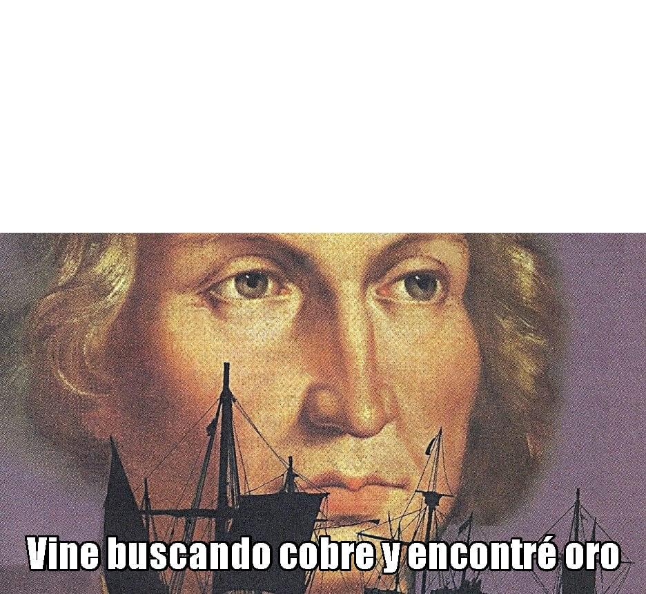 Plantilla de Vine buscando cobre y encontré oro