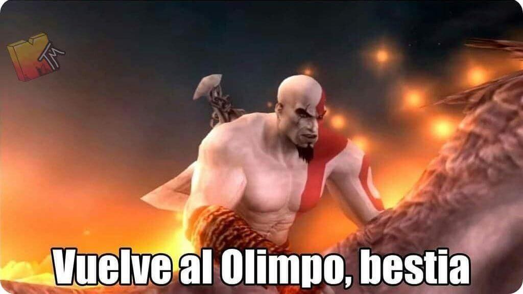 Plantilla de Vuelve al Olimpo, bestia