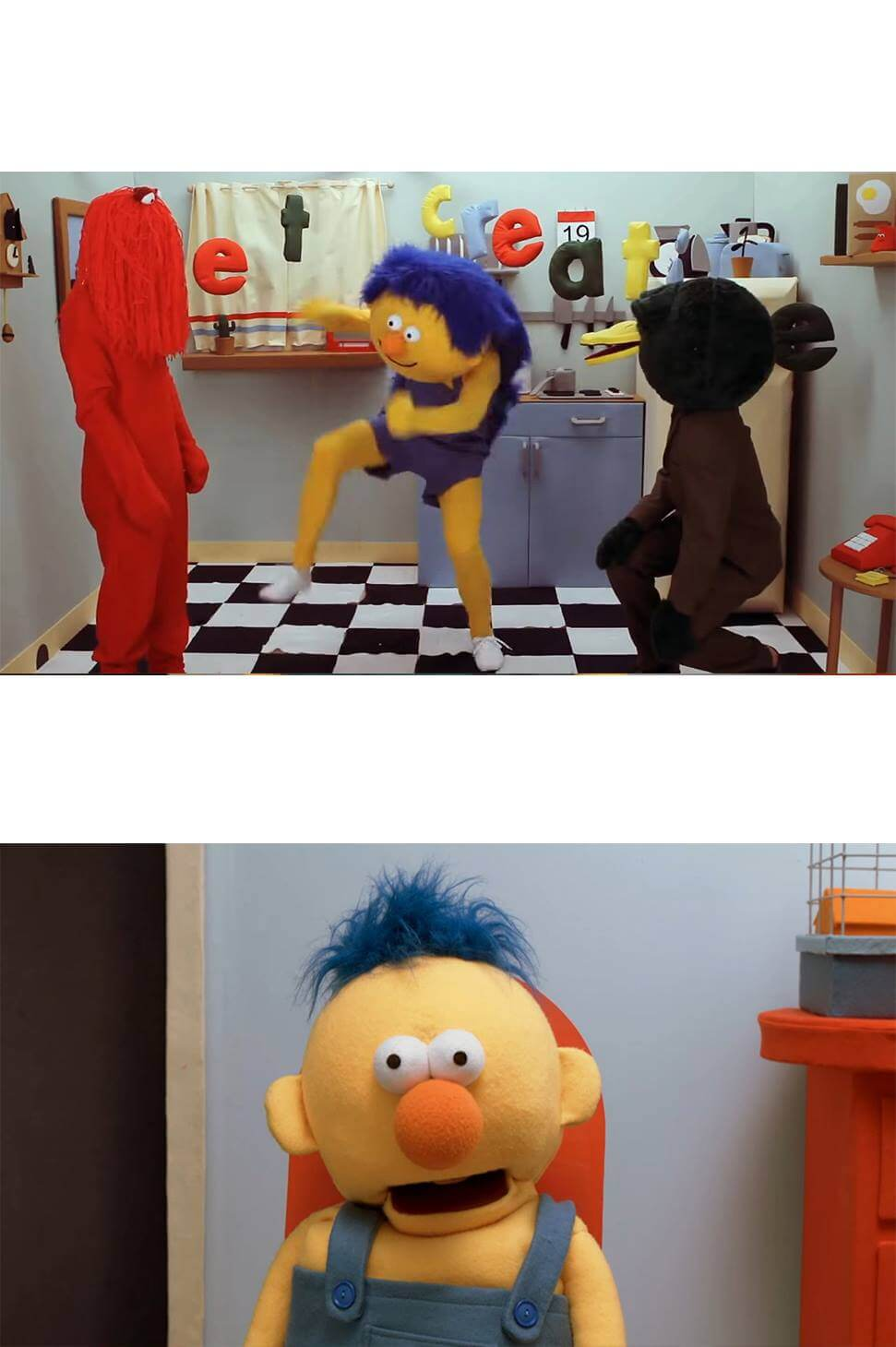 Ir a la pagina de la plantilla Yellow Guy bailando| Yellow Guy sorprendido.